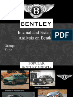Bentley I&E analysis