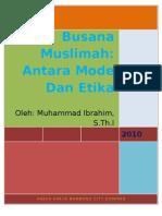 Busana Muslimah