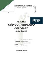 Resumen (Cod. Trib. 1-25)