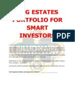 Approved BRG Estate Portfolio 2nd Quarter 2020