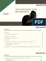 SOLDA COM ELETRODOS REVESTIDOS