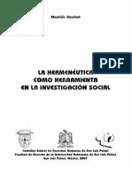 Beuchot Mauricio - La Hermeneutica Como Herramienta En La Investigacion Social.pdf