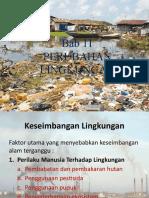 Bab 11 Perubahan Lingkungan