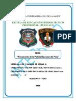ARMAMENTOS DE LA POLICIA NACIONAL DEL PERU