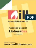 CATALOGO 2019 GAS LLOBERA