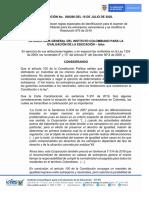 Resolución Icfes 298 - examen de validación del bachillerato para los extranjeros venezolanos