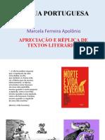 APRECIAÇÃO E RÉPLICA DE TEXTOS LITERARIOS.pptx