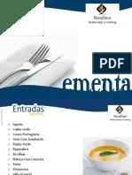 Ementa, BocaDoce, Lda