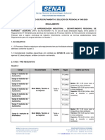 Regulamento Processo Seletivo 005 2020