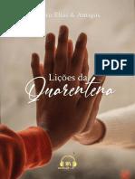 E-BOOK LIÇÕES DA QUARENTENA