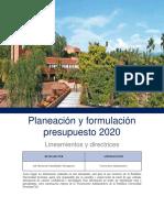 lineamientos de presupuesto 2020.pdf
