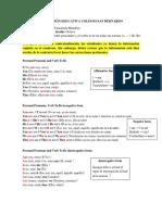 3. El verbo to be en presente simple y taller de refuerzo