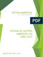 CLASE 4. SISTEMA DE GESTIÓN AMBIENTAL. I PARTE