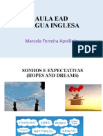 AULA DE INGLÊS DREAMS AND FUTURE.pptx