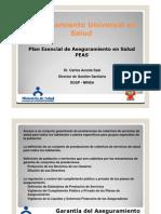 Plan Esencial de Aseguramiento en Salud MINSA-Dr Carlos Acosta S