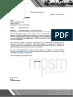 6 Informe xxx-2020, sujetos obligados Logistica