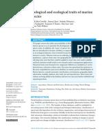 Peerj-1201_Biological and Ecological Traits of Marine