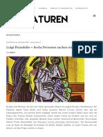 Luigi Pirandello – Sechs Personen suchen einen Autor _ Literaturen