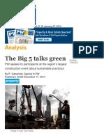 The Big 5 talks green _ GulfNews