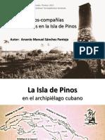 Los pueblos compañías norteamericanos de la Isla de Pinos, Cuba