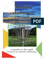 disc golf brochure  website