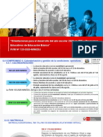 Ppt Analisis Calendarización y Matricula Modulo 3 MADELEINE PERALES
