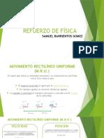 REFUERZO DE FÍSICA
