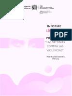 IPEC Misiones Informe de Denuncias en La Línea 137 Año 2019