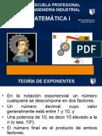 Teoría de Exponentes, Logaritmos y Polinomios