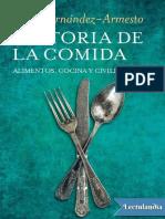 Historia de la comida - Felipe FernandezArmesto.pdf