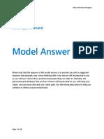 Microsoft Module 4 Task 3 - Model Answer