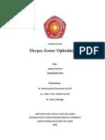 Laporan Kasus Herpes Zoster Ophtalmikus -Agunk