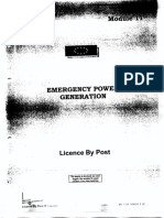 11 Emergency Power Generation