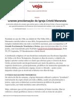 Grande proclamação da Igreja Cristã Maranata