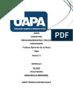 TEMA 6 Y 7, YULISSA ALMONTE