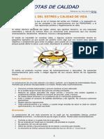 4- CONTROL DEL ESTRÉS y CALIDAD DE VIDA