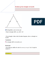 Démonstration triangle