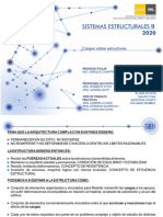 SEII-2020 APUNTE CARGAS SOBRE ESTRUCTURAS en arquitectura
