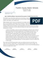 Franklin County Schools Delayed