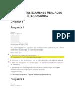 Preguntas Mercadeo Internacional