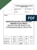 4 Selección de banco de condensadores CIRCUTOR
