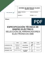 6 selección de arrancadores electrónicos ABB
