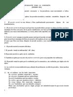 PREPARACIÓN   PARA   LA   CONFESIÓN Y EXAMEN DE CONCIENCIA