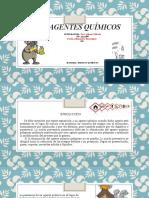 CLASIFICACION DE AGENTES QUIMICOS