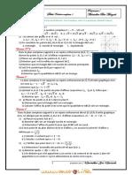 Série d'exercices N°1 - Math serie nombres complexes - Bac Informatique (2011-2012) Mr Mantadher Ben Marzouk