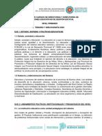 DIRECTOR - PRIMARIA - 2020