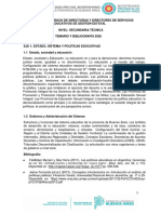 DIRECTOR - SECUNDARIA TECNICA - 2020