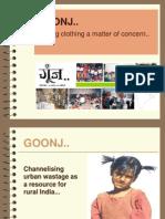 GOONJ Presentation