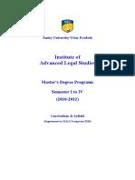 Aials Llm Syllabi 2010-2012