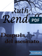 Despues del asesinato - Ruth Rendell.pdf